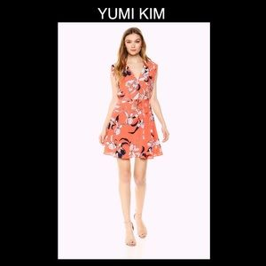 🦑YUMI KIM Small Orange Floral Dress🦑